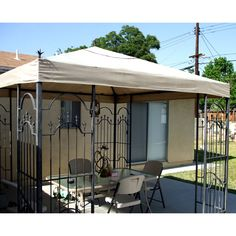 Costco Spears Finial Gazebo Replacement Canopy