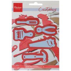 Ecstasy Crafts Marianne Design Creatables Dies - Tools, Grey