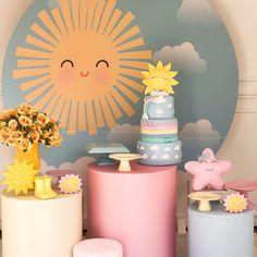 Fun Party Themes, Sunshine Birthday, Aurora, Party Shop, Alice, Table, Baby Shower, Home Decor, Mini