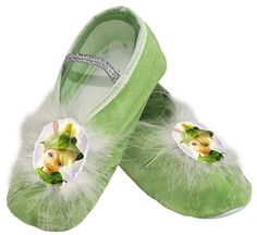 Tinker Bell Ballet Slippers,One Size Child $10.99