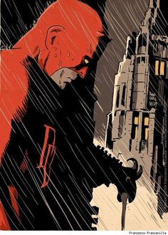 Daredevil by Francesco Francavilla