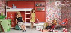 Cindy Whiteside Barbie Dioramas by MyLifeInPlastic.com, via Flickr 1:6th scale