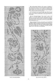 4 : containing designs & charts in the new filet crochet for Australian and New Zealand crochet workers. - Page 18 Mehr Crochet Basket Pattern, Crochet Doily Patterns, Crochet Borders, Embroidery Patterns Free, Crochet Squares, Crochet Designs, Crochet Doilies, Cross Stitch Patterns, Crochet Books
