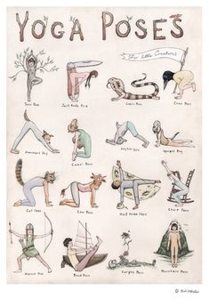 This detailed hand-illustrated yoga poster features sixteen characters demonstra&; This detailed hand-illustrated yoga poster features sixteen characters demonstra&; shabby 77 Yoga This detailed hand-illustrated yoga poster features sixteen […] poster Yin Yoga, Yoga Meditation, Yoga Mantras, Meditation Scripts, Meditation Corner, Yoga Fitness, Yoga Flow, Yoga Inspiration, Pilates