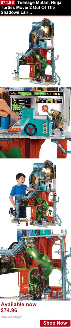 Telescopes: Teenage Mutant Ninja Turtles Movie 2 Out Of The Shadows Lair Playset BUY IT NOW ONLY: $74.96