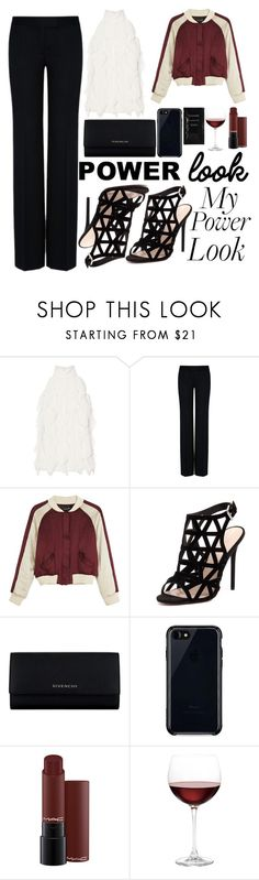 """what's your power look?"" by a-hidden-secret ❤ liked on Polyvore featuring Exclusive for Intermix, STELLA McCARTNEY, Isabel Marant, RMK, Givenchy, Belkin, Nordstrom and Cleanse by Lauren Napier"