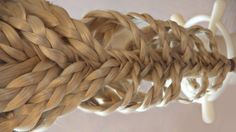Multi braids hairstyle