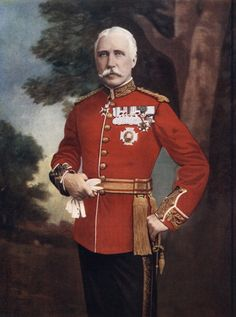 Major General Sir Bindon Blood, British soldier, 1902. Image by Elliot & Fry.