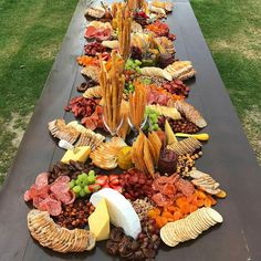 "Taking the term ""CHEESE PLATTER"" to a whole new level! Sister in law just sent through this snap of this amazing cheese table from… Plateau Charcuterie, Charcuterie And Cheese Board, Cheese Boards, Food Platters, Cheese Platters, Antipasto, Buffets, Cheese Table, Cheese Fruit"