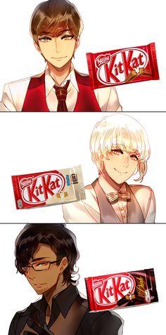 Kit Kat Flavours Series (1) by Cioccolatodorima on DeviantArt