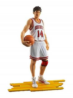 The spirit collection of Inoue Takehiko 『SLAM DUNK (三井 寿)』(白ユニフォームVer.) ティーケー・ホールディングス http://www.amazon.co.jp/dp/B019NZ3MNE/ref=cm_sw_r_pi_dp_FFA.wb12SV796