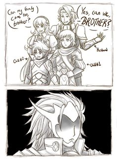 2/2 XD I've totally have thought this exact thing before, just without Xander
