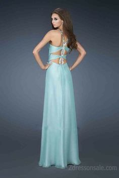 Announce New Styles Of La Femme 18499 Long Dress for 2014