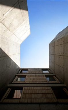 Louis Kahn - Salk Institute  © 2009 benjamin kou