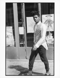 Eclectic Vibes — Jean-Michel Basquiat photographed by Michael. Jean Michel Basquiat, Andy Warhol, Radiant Child, Video Clips, Neo Expressionism, Portraits, Street Culture, Post Punk, Black Power