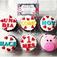 Un dia como hoy  / One day like today / pig cupcakes