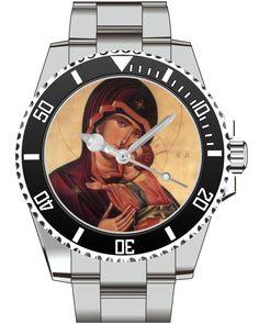 Maria mit Jesus KIESENBERG ® Uhr 2633 von UHR63 auf Etsy