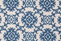 Waverly Tommy Bahama Medallion Island Printed Polyester Outdoor Fabric in Riptide $9.95 per yard