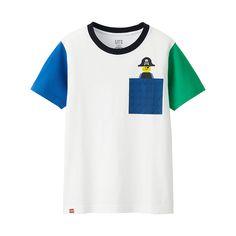 UNIQLO B's LEGO(R) graphic S/S T-shirt F (390 THB)