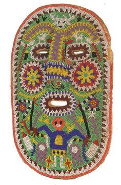 Huichol Beaded Mask - Mexico