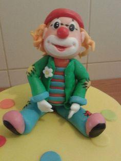 Clown cake  Cake by verasantos
