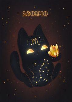 "Beautiful ""Scorpio Zodiac Monster"" metal poster created by Zuzana Ziakova. Scorpio Art, Zodiac Signs Astrology, Zodiac Star Signs, Zodiac Art, Aquarius Zodiac, Scorpio Traits, Zodiac Sign Fashion, Zodiac Characters, Print Artist"
