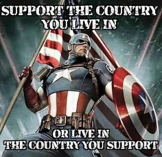 We DO live in the best country in the world -- don't believe it, just visit a thirld world country!  We are truly blessed!
