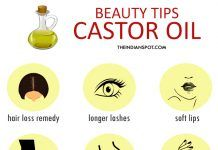 15 Amazing beauty tips using castor oil