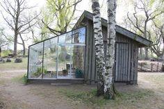 Greenhouse shed combo #greenhouseideas #greenhousefarm