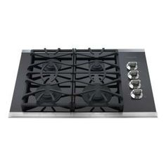 Frigidaire Gallery 30 in. Gas Cooktop in Stainless Steel with 4 Burners-FGGC3065KS at The Home Depot