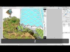 Plan to Sketchup - YouTube