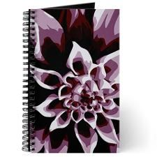 Deep Purple Flower Journal. Click to see this design on other products.