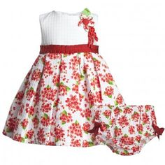 166f1375e0fcc Abella Red Floral Dress   Bloomers Set at Childrensalon.com. Amy Callahan · kids  clothing!!