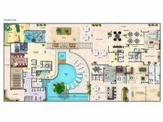 plantas de casas de 2 andares