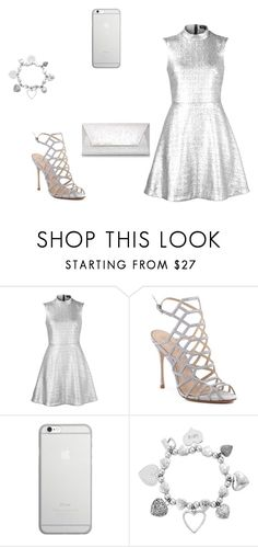 """""""glitter&parkle"""" by honeyxbun on Polyvore featuring Markus Lupfer, Schutz, Native Union, ChloBo and Dorothy Perkins"""