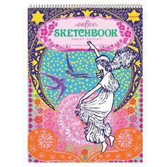 Girl In Stars Sketchbook
