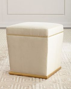 Shop Peacock Cube Ottoman from Haute House at Horchow, where you'll find new lower shipping on hundreds of home furnishings and gifts. Oval Ottoman, Ottoman Table, Square Ottoman, Wicker Ottoman, Office Waiting Room Chairs, Bernhardt Furniture, Leather Recliner Chair, Mortise And Tenon, Upholstered Furniture