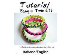 Bangle Twin Été Tutorial grafico