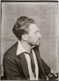 Ezra Pound by Man Ray 1923