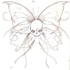 still a work in progress. im new here so still tryin ta figure out how deviant works. Dope Tattoos, Pretty Tattoos, Mini Tattoos, Body Art Tattoos, Tribal Tattoos, Cool Skull Drawings, Tattoo Design Drawings, Art Drawings, Future Tattoos