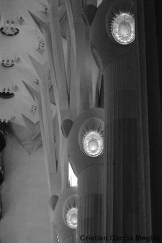 Pilares, Sagrada Familia.