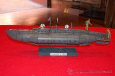 Submarino X Craft. En resina. Escala 1:35.