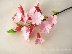 Very pretty, looks like sakura (cheery blossom) flowers..