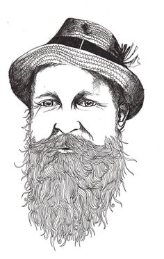 Georgie Wordley Man About Tea illustration
