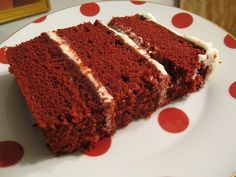If I could eat just one dessert for the rest of my life, without a doubt it'd be red velvet cake with cream cheese frosting. There's just something about the light, soft cake paired with the rich … Sweet Recipes, Cake Recipes, Dessert Recipes, Just Cakes, Cakes And More, Sweets Cake, Cupcake Cakes, Red Velvet Recipes, No Cook Desserts