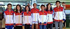 Philippines' Roxanne Yu and Vicky Deldio at day one of 2nd YOG   Pinoy Headline dot Com
