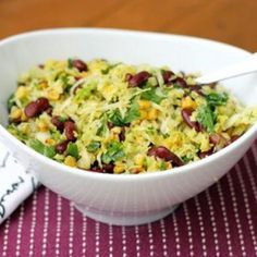 Charred Corn & Cabbage Salad Recipe - ZipList