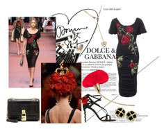 """Dolce&Gabbana"" by paynard on Polyvore featuring moda e Dolce&Gabbana"