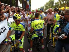 @letour 2014 has covered its final kilometers. We're celebrating on Champs-Élysées #tdf #tinkoff4tdf