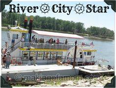 River City Star, Omaha Nebraska #rivercruise #familyfriendlyactivity